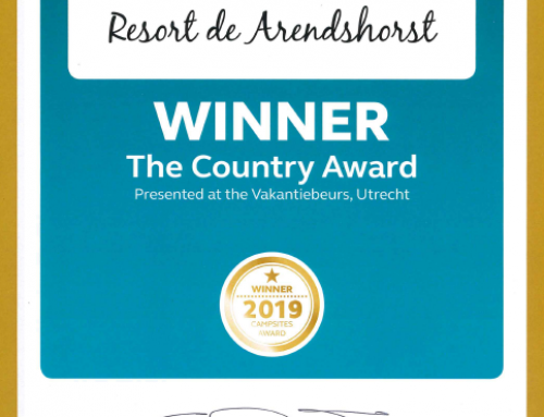 Resort de Arendshorst winnaar van Country Award